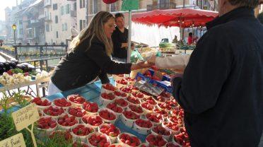 Annecy Market Day