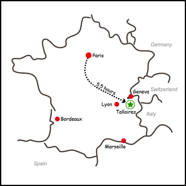 MapGraphicFrance
